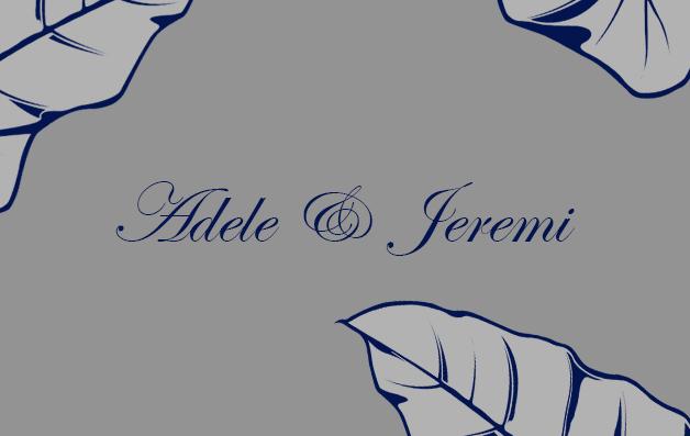 ADELE ET JEREMI